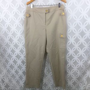 ST. John Yellow Label Cargo Pocket Ankle Pants